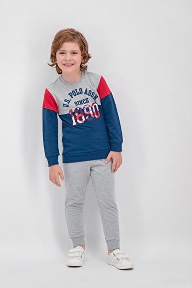 U.S. Polo Assn. U.S. Polo Assn Lisanslı Lacivert Erkek Çocuk Eşofman Takımı Lacivert